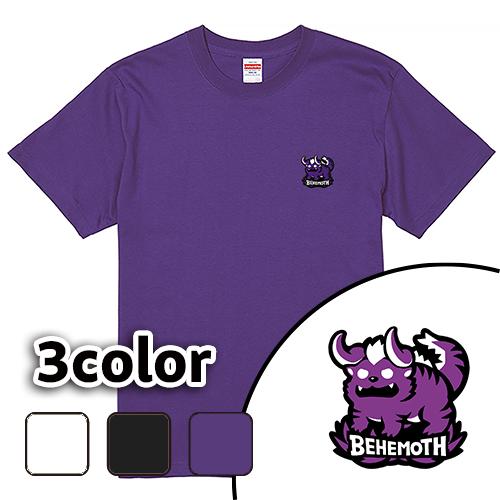 Tシャツ 半袖 大きいサイズ 5.6オンス ベヒモス(ワッペン)/L 2L 3L 4L 5L 6L 7L/キングサイズ 翌日発送可