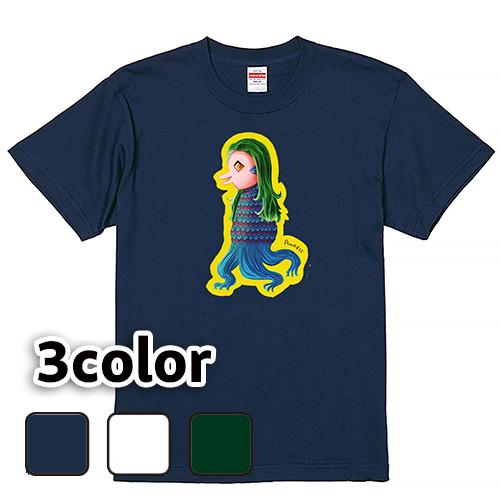 Tシャツ 半袖 大きいサイズ 5.6オンス アマビエ/L 2L 3L 4L 5L 6L 7L/キングサイズ 翌日発送可
