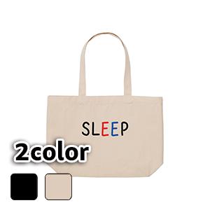 エコバッグ トートバッグ キャンバス SLEEP(B)/10L 15L