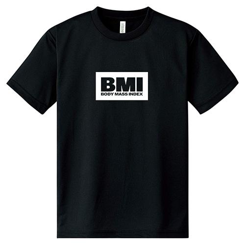 ドライTシャツ トレーニングウェア スポーツ ジム 半袖 大きいサイズ ボックスロゴ BMI/L 2L 3L 4L 5L