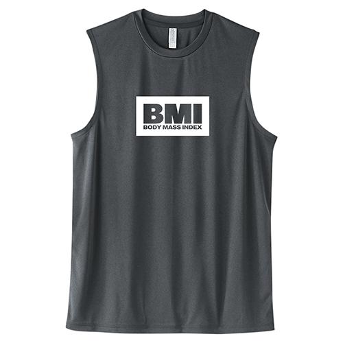 大きいサイズ メンズ ドライノースリーブ トレーニングウェア スポーツ ジム タンクトップ ボックスロゴ BMI/L 2L 3L