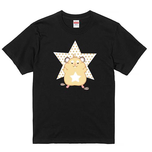 【YouTubelive記念SALE】大きいサイズ メンズ Tシャツ 半袖 ハム☆スター / L 翌日出荷可