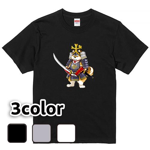 Tシャツ 半袖 大きいサイズ 5.6オンス 犬武者/L 2L 3L 4L 5L 6L 7L/キングサイズ 翌日発送可