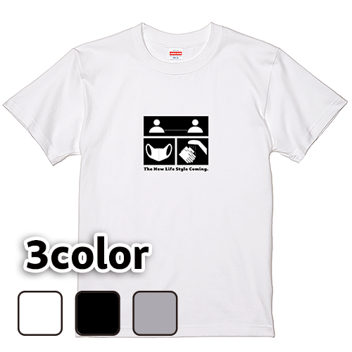 Tシャツ 半袖 大きいサイズ 5.6オンス ニューライフスタイル/L 2L 3L 4L 5L 6L 7L/キングサイズ 翌日発送可