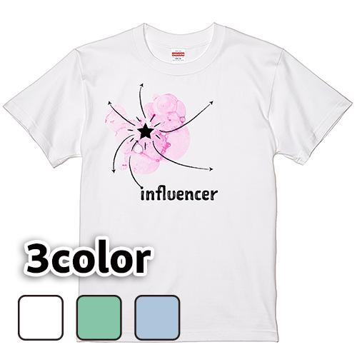 Tシャツ 半袖 大きいサイズ 5.6オンス influencer/L 2L 3L 4L 5L 6L 7L/キングサイズ 翌日発送可