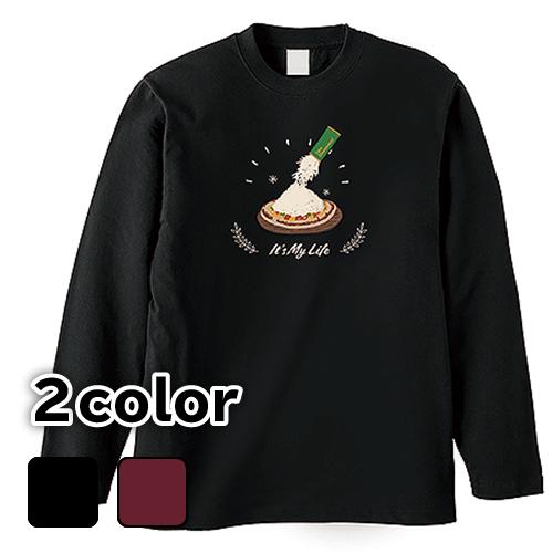 大きいサイズ メンズ ロンT 長袖Tシャツ It's My Life / L 2L 3L 4L