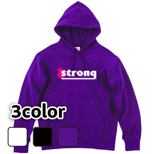 大きいサイズ メンズ パーカー プルオーバー strong / S M L 2L 3L 4L 5L