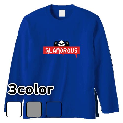 大きいサイズ メンズ ロンT 長袖Tシャツ BoxLogo Wild blood / L 2L 3L 4L