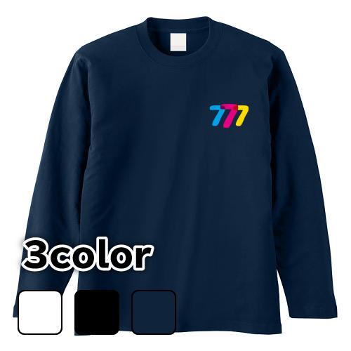 大きいサイズ メンズ ロンT 長袖Tシャツ 777 / S M L 2L 3L 4L