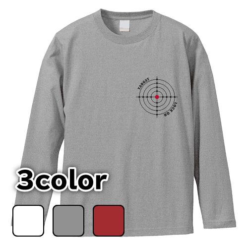 大きいサイズ メンズ ロンT 長袖Tシャツ ターゲット / L 2L 3L 4L