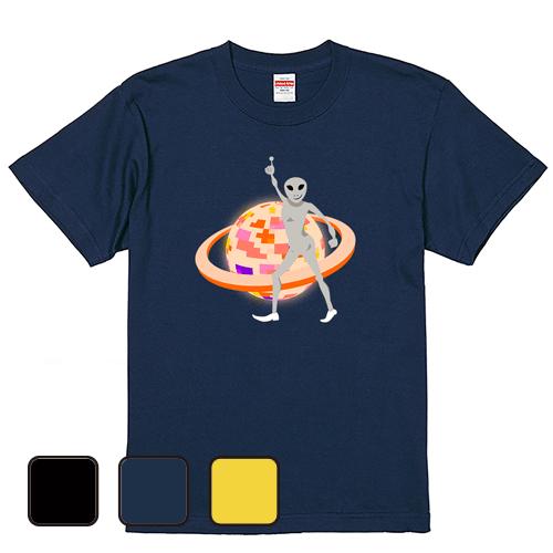 大きいサイズ メンズ Tシャツ 半袖 サターンデーナイトフィーバー / L 2L 3L 4L 翌日発送可