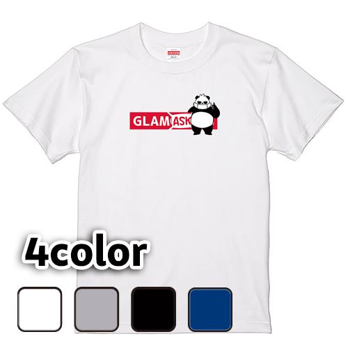 Tシャツ 半袖 大きいサイズ 5.6オンス BoxLogo グラMASK/L 2L 3L 4L 5L 6L 7L/キングサイズ対応 翌日発送可