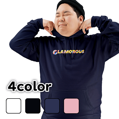 大きいサイズ メンズ パーカー プルオーバー GLAMOROUS / S M L 2L 3L 4L 5L
