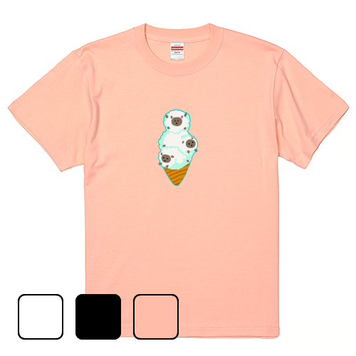 大きいサイズ メンズ Tシャツ 半袖 ゆるふわ ふわふわひつじソフト / S M L 2L 3L 4L