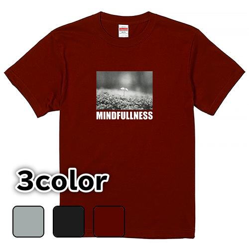 Tシャツ 半袖 大きいサイズ 5.6オンス マインドフルネス/L 2L 3L 4L 5L 6L 7L/キングサイズ対応 翌日発送可