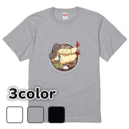 Tシャツ 半袖 大きいサイズ 5.6オンス らっこ天そば/L 2L 3L 4L 5L 6L 7L/キングサイズ 翌日発送可