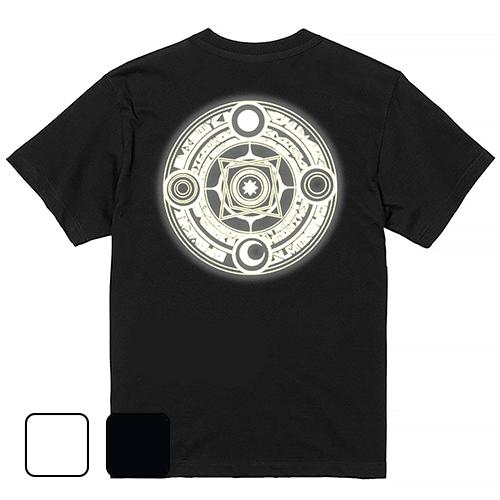 大きいサイズ メンズ Tシャツ 半袖 光の魔法陣 (バックプリント) / S M L 2L 3L 4L