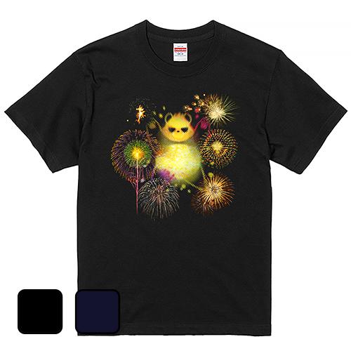 大きいサイズ メンズ Tシャツ 半袖 グラパン 花火 / S M L 2L 3L 4L