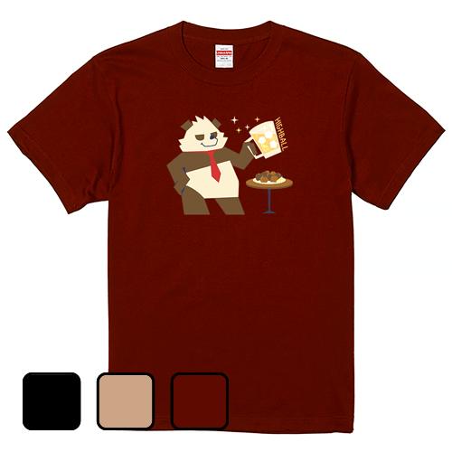 大きいサイズ メンズ Tシャツ 半袖 ハイボールとカラアゲ / S M L 2L 3L 4L