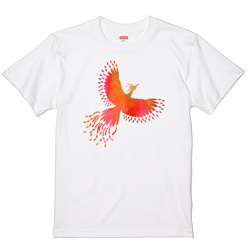 【YouTubelive記念SALE】大きいサイズ メンズ Tシャツ 半袖 フェニックス / 2L 翌日出荷可