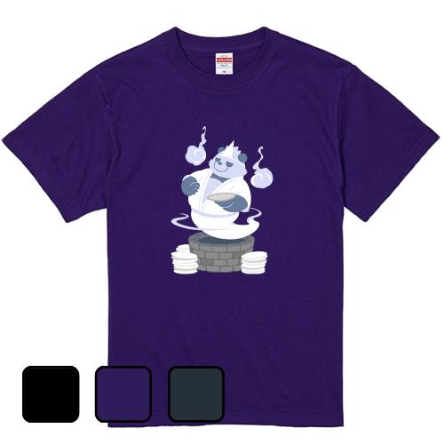 大きいサイズ メンズ Tシャツ 半袖 パンダ皿屋敷 / S M L 2L 3L 4L