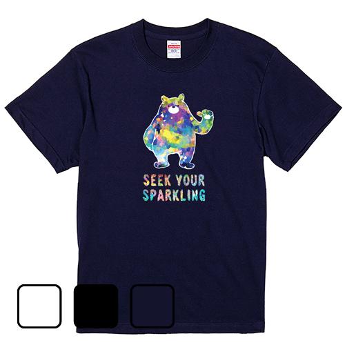 大きいサイズ メンズ Tシャツ 半袖 JEWEL BEAR / S M L 2L 3L 4L