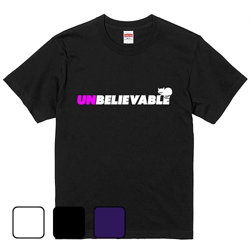 大きいサイズ メンズ Tシャツ 半袖  un|believable/ S M L 2L 3L 4L