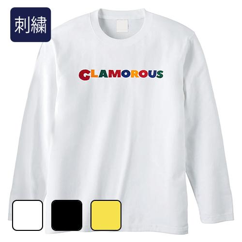 大きいサイズ メンズ 刺繍 GLAMOROUS Candylogo