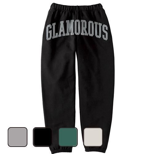 大きいサイズ メンズ スウェットパンツ GLAMOROUS OLD SCHOOL LOGO/ L 2L 3L 4L 5L