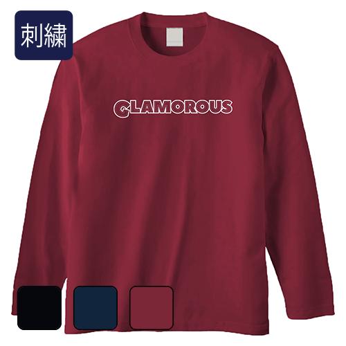 大きいサイズ メンズ GLAMOROUS stitch logo