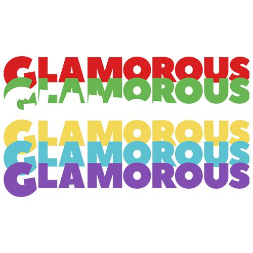 大きいサイズ メンズ GLAMOROUS Colorful Shift