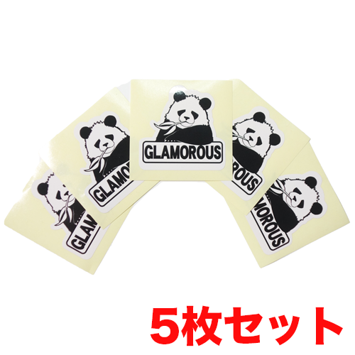 ステッカー 5枚セット グラパン ボックス ロゴ / 翌日発送可能