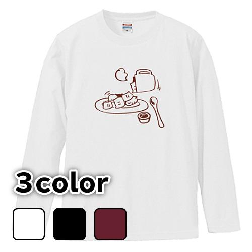 大きいサイズ メンズ ロンT 長袖Tシャツ mochineko / L 2L 3L 4L