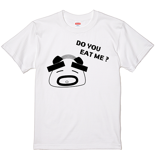 Tシャツ 半袖 大きいサイズ メンズ おじぎりさん1 5.6オンス てらゆう公式/S M L 2L 3L 4L 翌日発送可