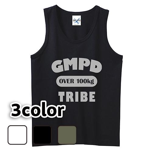 大きいサイズ メンズ タンクトップ GMPD TRIBE / L 2L 3L 4L