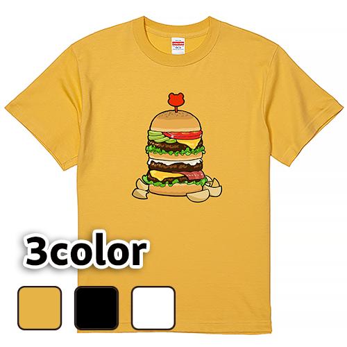 Tシャツ 半袖 大きいサイズ 5.6オンス メガバーガー/L 2L 3L 4L 5L 6L 7L/キングサイズ 翌日発送可