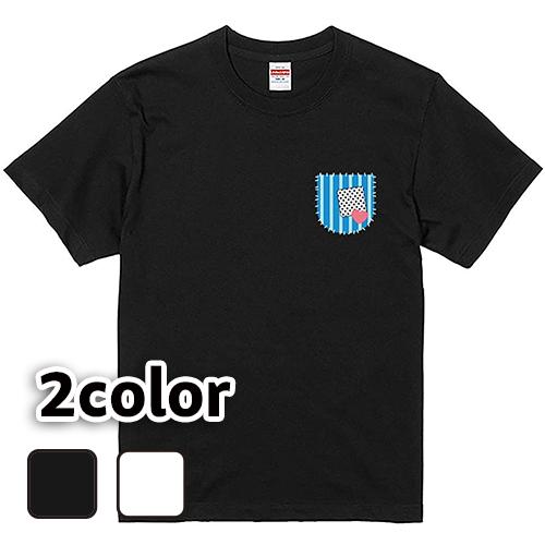 Tシャツ 半袖 大きいサイズ 5.6オンス つぎはぎポケット/L 2L 3L 4L 5L 6L 7L/キングサイズ 翌日発送可