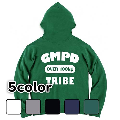 大きいサイズ メンズ パーカー プルオーバー GMPD TRIBE(バックプリント) / S M L 2L 3L 4L 5L