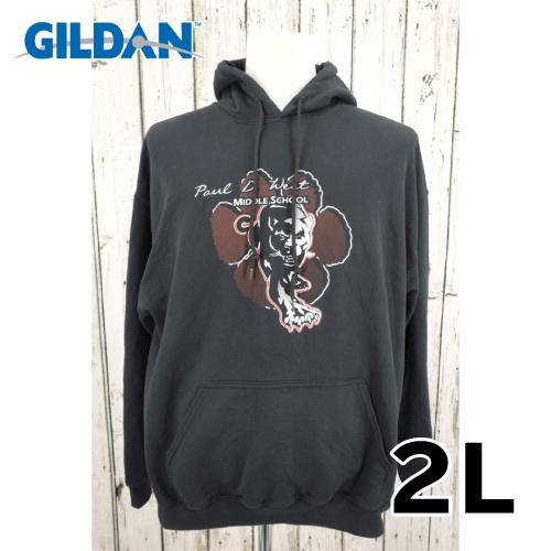【美品】 GILDAN プルオーバーパーカー 2L USED