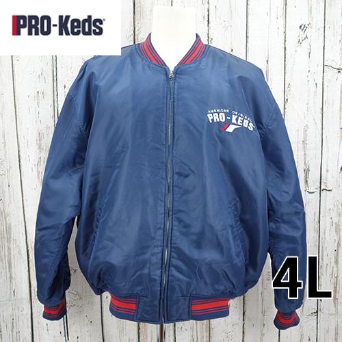 【美品】 PRO-KIDS ビッグサイズ ベースボールジャケット 4L USED 古着