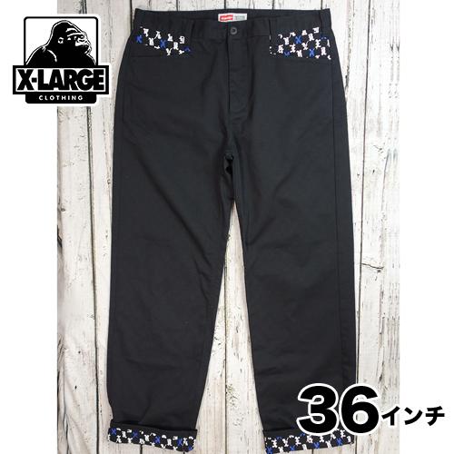 【美品】X-LARGE チノパン 36インチ USED 古着