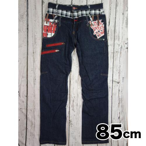 【美品】 ANTFUI レイヤードジーンズ 85cm USED 古着