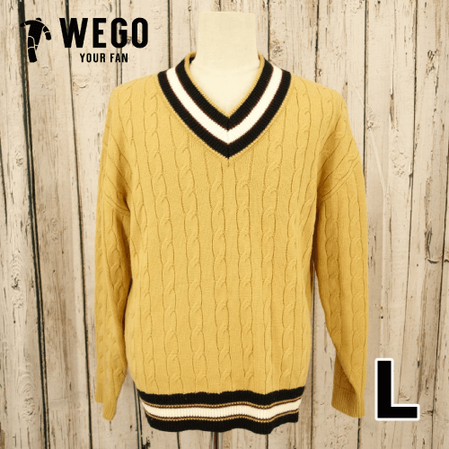 【美品】 WEGO ニットセーター L USED 古着