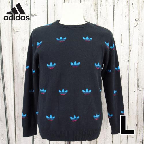 【美品】 adidas(アディダス) セーター L USED