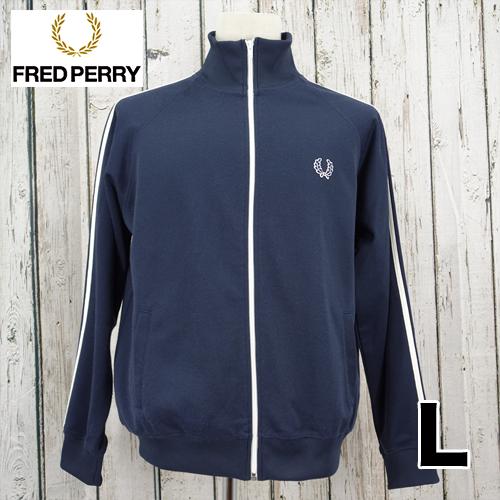 FRED PERRY(フレッドペリー) ジップアップ ジャージ L USED