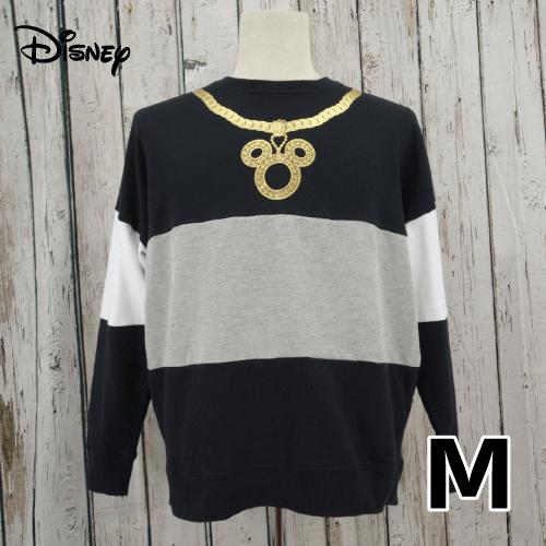 【美品】オーバーサイズ Disney(ディズニー) トレーナー M USED
