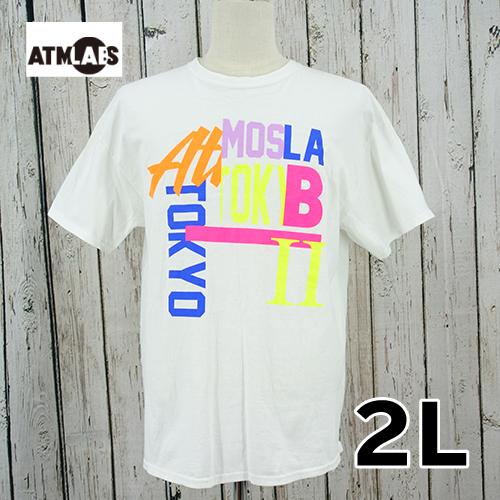 【美品】 ATMLABS 半袖 Tシャツ 2L USED