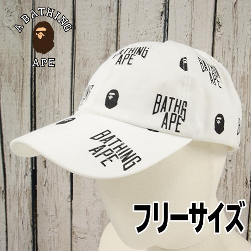 【美品】 A BATHING APE(エイプ) キャップ フリー USED
