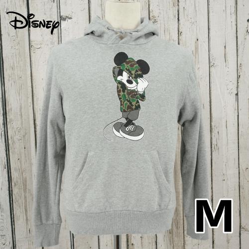 Disney(ディズニー) ミッキー プルオーバーパーカー M USED