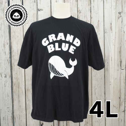 【美品】 GLAMOROUS STORE プリント 半袖 Tシャツ 4L USED